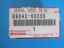 TOYOTA LEXUS NEW OEM RH FRONT SPEED SENSOR 89542-60050  89542-04020