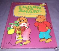 Berenstain Bears Cub Club Learn to Share Children's Learn to Read Picture Book