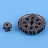 Neu Differential Hauptzahnra 64T Motor Getriebe 21T Für 1:10 RC HSP 11184 11119