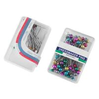 Plastic Colorful Pearl Head Dressmaking Pins DIY Sewing Positioning Pin A#S
