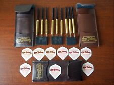 OLD HOLBORN  Darts 3 Sets New Original Gold Colour Brass With Cases Collectible