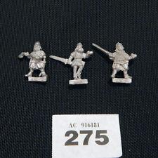 CITADEL - Norse fighters / characters x3 - metal oop 80'S 275