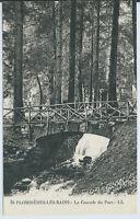 CPA 88 - PLOMBIERES-LES-BAINS - La Cascade du parc