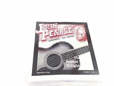 John Pearse Guitar Strings  Acoustic Extra Light Gauge #500XL Phos Bronze