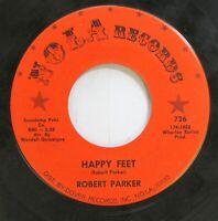 Hear! Northern Soul 45 Robert Parker - Happy Feet / The Scratch On Nola