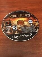 Lord of the Rings: The Return of the King (Sony PlayStation 2, 2003) Game Only