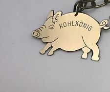 Kohlorden Kohlkönig Kohlkette Kohlschwein Schnitzelkönig Plakette Orden Medaille