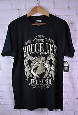 Bruce Lee Jeet Kune Do UFC Mens Lightweight Black T-shirt