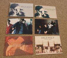 More details for idlewild 'the remote part' limited edition postcard set of 5 indie rare