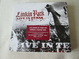 LINKIN PARK CD DVD LIVE IN TEXAS