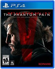 Metal Gear Solid V: The Phantom Pain [Sony PS4 PlayStation 4, Hideo Kojima] NEW
