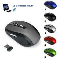 Mini Photoelectricity USB Wireless Mouse 2.4GHz Optical Cordless Mice for Laptop