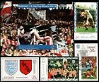 SUNDERLAND AFC FA CUP Winners 1972-1973 Football Stamps (Bobby Kerr/Dick Malone)