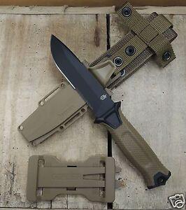 Gerber Strongarm coyote Messer Fahrtenmesser Outdoormesser + MOLLE Scheide G1059
