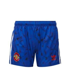 Manchester United Human Race Women's Shorts Adidas - Size Small