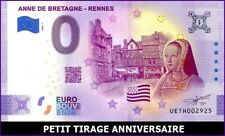 UE TH-1 / ANNE DE BRETAGNE / ANNIVERSARY 2020 / BILLET SOUVENIR 0 € / 2020-1