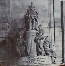 Cornwallis' Monument, St. Pauls' Cathedral, London, Magic Lantern Glass Slide