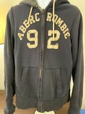 abercrombie fitch mens hoodie Sz L
