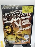 NBA Street V3 PS2 Case & Artwork Only No Game Sony PlayStation 2 Empty Case 2005