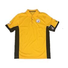 b5d387386f8 NEW NWT Pittsburgh Steelers Nike Dri Fit Men s Team Issue Polo Shirt Size  Small