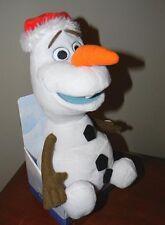 NEW ~ Disney FROZEN Christmas OLAF ~ TALK & SWAY Animated Stuffed Toy SNOWMAN