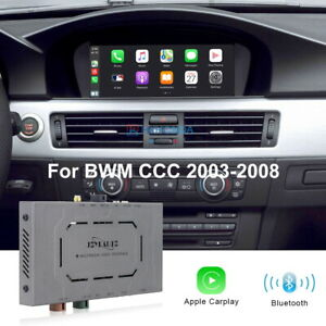 Wireless IOS CarPlay For BMW CCC System 2003-2008 8.8 Inch Android Auto Retrofit