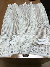 "Crochet/Lace Duck Panel 51"" x 37"""