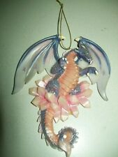 New Dragon ornament - Purple/pink - Nice - For Dragon lovers - New