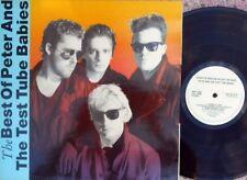 Peter & The Test Tube Babies ORIG UK LP Best of EX '88 Castle DOJLP57 Punk Oi!