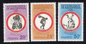 Upper Volta 1963 Set of Stamps MI#117-19 MNH