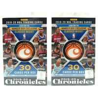 LOT (2) 2019-20 Panini NBA CHRONICLES Hanger Box 2020 - Zion/Morant??? IN HAND