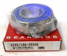 CONSOLIDATED DEEP GROOVE BALL BEARING 62205/100-2RSBR, 1 MM X 52 MM X 15 MM