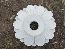 "11"" Cement Sunflower Planter or Gazing Ball Globe Holder Garden Statue Concrete"