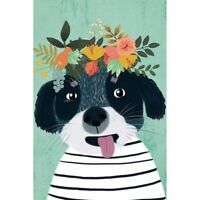 5D Full Drill DIY Diamond Painting Dog Spit Embroidery Cross Stitch Kits Art