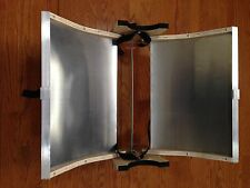 """Fits RAND 4&5"""" OD Solar Oven Evac Glass--Selling XLARGE REFLECTOR ONLY-WOW 400F!"""