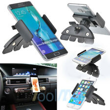 360° Car CD Slot Mount Cradle Holder Stand for Smart Mobile Cell Phone GPS New