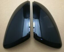 VW GOLF MK7 Wing Mirror Covers Gloss Black Caps Case Shell Replacement R GTI GTD