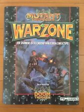Mutant Chronicles Warzone- Een Spannend Miniaturen Conflictspel
