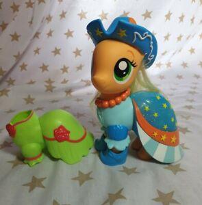 Hasbro My Little Pony The Movie Snap-On Fashion Applejack Figure/Toy. Loose.