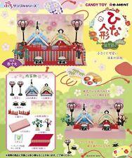 Re-ment Miniature Hinamatsuri Japanese Girls Day Festival Dollhouse Figures Set