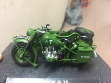 Atlas Collection 1939-1945 BMW R 75 Motorcycle Model 1/24 Scale Bike Model