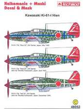 Techmod Decals 1/48 KAWASAKI Ki-61 HEIN Fighter w/Masks