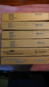 HP Hewlett Packard Agilent Test & Measurement Catalogs Still is Original Package