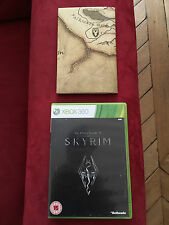 THE ELDERS SCROLLS V SKYRIM BETHESDA MAP XBOX 360 MICROSOFT LIVE GOLD ONE XBONE