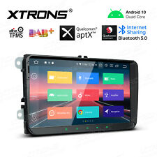 "9"" Android 10.0 Car Stereo GPS Radio Qualcomm Bluetooth Head Unit for VW Jetta"