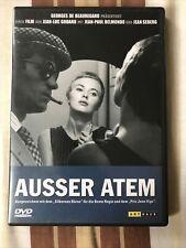 DVD Außer Atem, RC2 arthaus, Klassiker von Godard mit Belmondo, dt. und frz. Ton