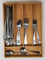 FLIGHT RELIANCE Oneida Stainless Flatware 26 pc Teaspoons Forks Spoons Knives