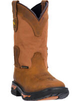 Dan Post NIB Boys Youth Cowboy Square Toe Western Waterproof Boots DPC3699 Size