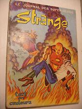 Semic MARVEL DC Comics FRANCE BD LUG Super Hero STRANGE n°48 Decembre 1973