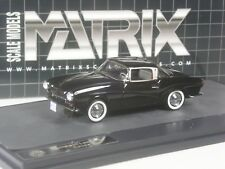 Klasse: Matrix VW Rometsch Lawrence Coupé schwarz in 1:43 in OVP